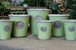 Hand-thrown pots from the Royal Botanic Gardens, Kew: super-large Grande Pot in Chartwell Green