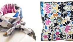 Fine art and fashion: fabulous new Gaudi Modernista pure silk scarf: a snip at only £33