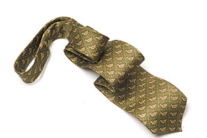 Pure silk Grouse tie: the perfect upper-crust sporting tie