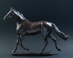 'Hunter': a new limited edition bronze by David Geenty