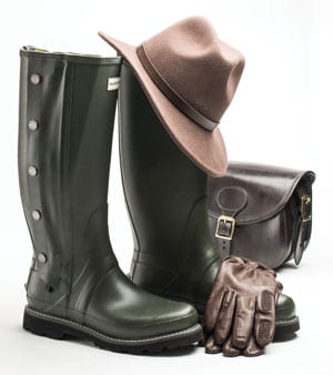 New Hunter Boots Field Collection: Hunter Balmoral Sovereign II Side Zip, leather-lined