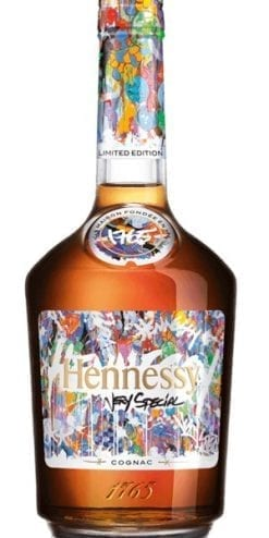 The art of Hennessy VS: Limited Edition by American artist JonOne