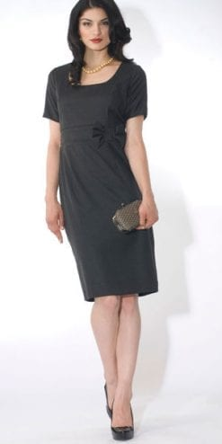 From the new Eve Pollard designer collection: The Gunmetal Grey Dress