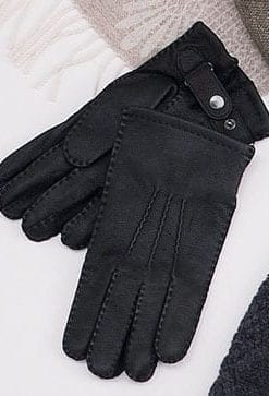 Finest grade American deerskin gloves for men