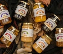 Delicious epicurean raw honey hamper from Italy and Sicily