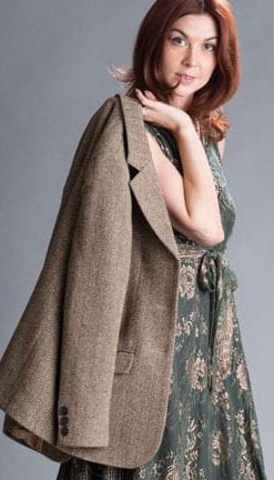 The New British Heritage: Belvoir Jacket in pure wool tweed by Abraham Moon