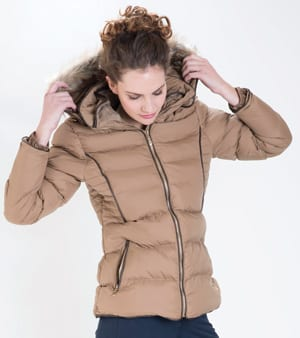 Great Outdoors: tailored new Hemingway jacket with faux fur