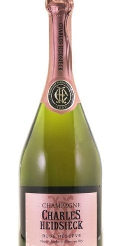Charles Heidsieck Rosé Réserve NV: multiple Gold Medal and Trophy winner: case of six bottles: save £87