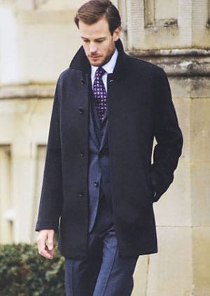 Top-notch wool-cashmere coat by Magee: a snip at £169