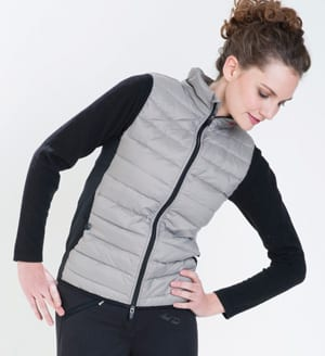 Great Outdoors: Mark Todd gilet bodywarmer in black and fawn
