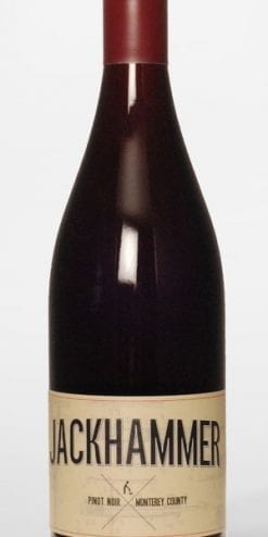 Californian Pinot Noir: Jackhammer 2015: case of 12 bottles, £159