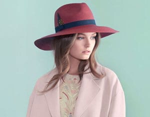 Chic new Panama hat by Christie's: the gorgeous wide-brim Jessica