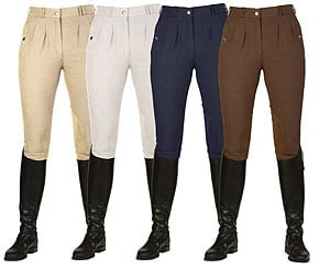 Mark Todd Ladies Kaikoura Breeches with pleated front