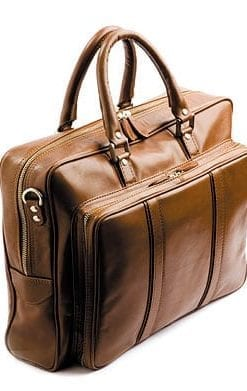 Cowhide Laptop Briefcase