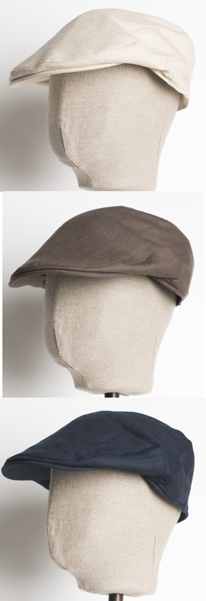 61a8783b The Rolls-Royce of flat caps for summer: the Balmoral linen cap by Christys