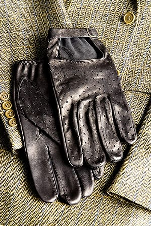 English-made capeskin ladies driving gloves