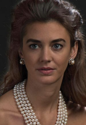 Spectacular natural South Sea White Pearl, diamond and 18ct white gold Libretto Earrings