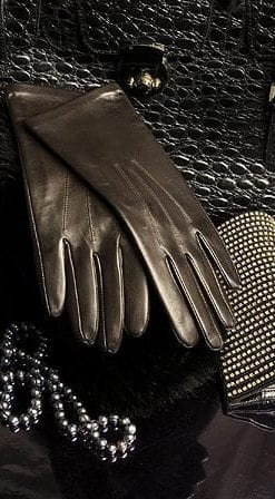 Silk-lined, English-made capeskin gloves for ladies