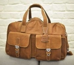 New Enzo Design leather holdall: £119