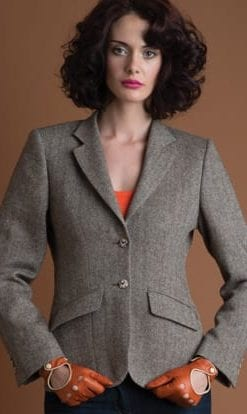 Pure wool handwoven ladies' jacket by Magee
