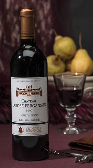 Marching with the vineyards of the great Château Latour: Château Larose Perganson 2007