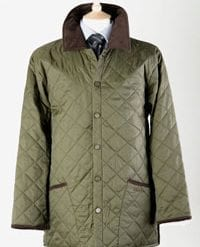 Super new quilted jacket for men: a snip at only £37