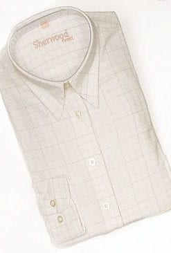 Tattersall check ladies' shirt