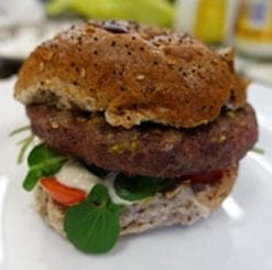 Welsh Wagyu: the world's most delicious beef steak burgers: the Monty Burger Box: 2 x 10oz burgers and 6 x 170g, saving £14