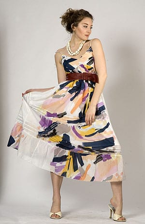 Cezanne Maxi Art Collection dress