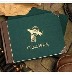 Fine English Game Book by sporting artist Rodger McPhail