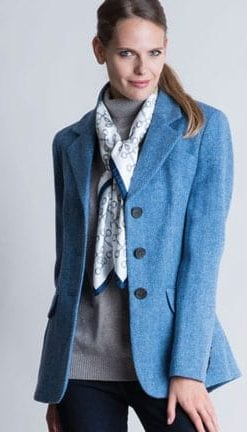 The New British Heritage: Sandringham Jacket in pure wool tweed by Abraham Moon