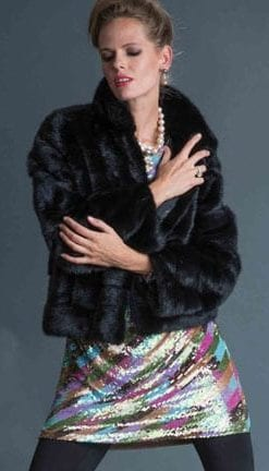 Haute Collection: Opulent Fur: Luxuriously crafted jacket in the finest mink fur