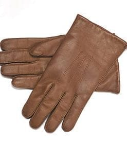 Deerskin men's leather gloves