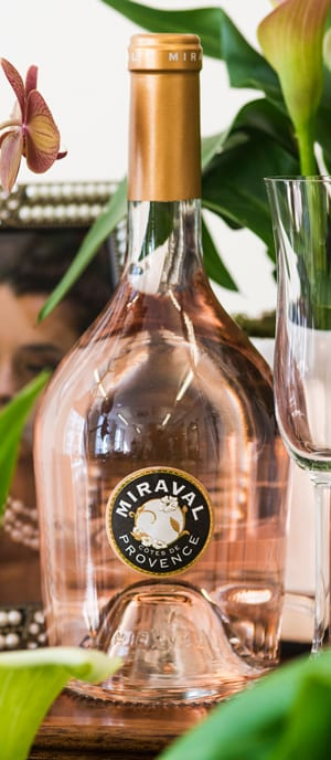 The new vintage Miraval, 2017, 'the world's best rosé', has arrived