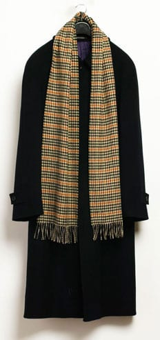 Beautiful pure merino wool scarf by Abraham Moon
