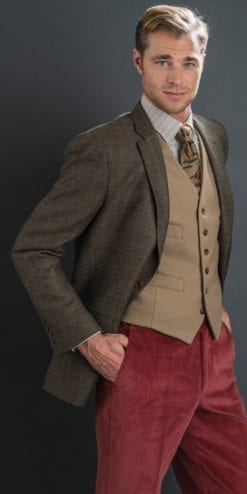 The new season's jackets: the gorgeous brown herringbone