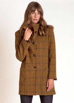 Fabulous new tweed coat for AW17/18: Pure Donegal lambswool by Magee: save £183
