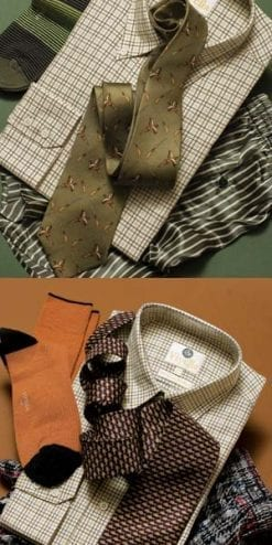 Viyella classic tattersall mini check shirt: new autumn colours
