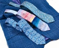 A new silk tie for the artistic man: William Morris 'Blue Fruit' Tie