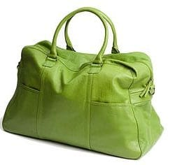Soft, luxurious calfskin weekender