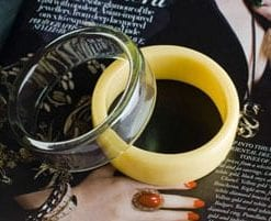 Mellow Yellow and Smoke bangles: pure Sixties, bang up to date