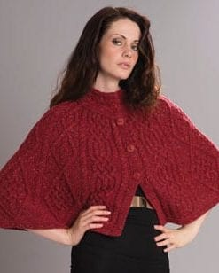 The Wool Pack: fashion-forward new cropped cape by Westend Knitwear