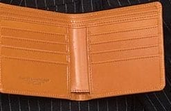 Notecase wallet in English bridle leather