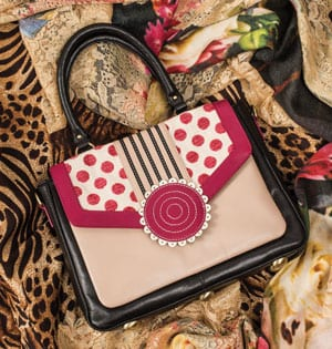 Limited edition bag by Spencer & Rutherford: the Nancy 'Eye Candy'