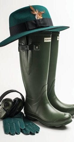 New Hunter Boots Field Collection: Ladies' Norris Side Adjustable Field Boot