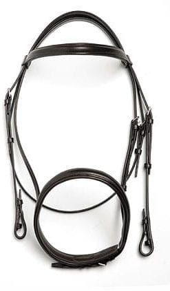 Padded Medium Weight English Bridles by Shayler of Walsall