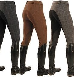 Mark Todd Ladies' Plaid Breeches