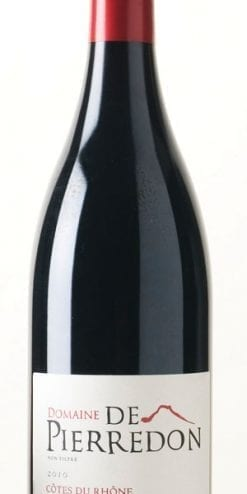 Excellent Côtes du Rhône: delicious with game and lamb: only £109 per case of 12