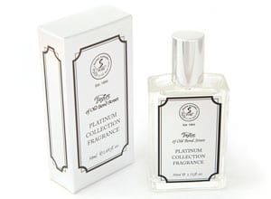 Finest new fragrance from Taylor of Old Bond Street: Platinum Collection: 50ml bottle