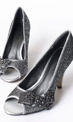 The new pewter heels by Aftershock of London